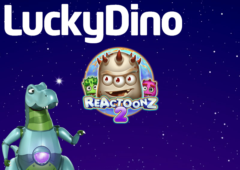 LuckyDino Reactoonz spins